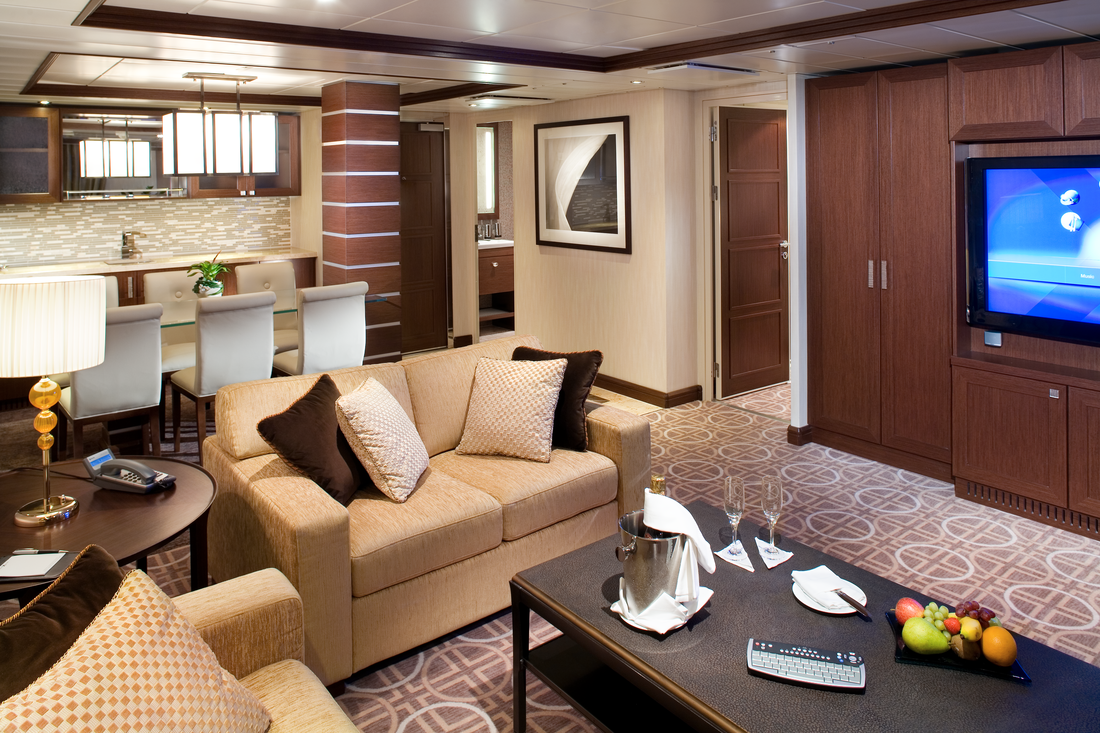Royal Suite on Celebrity Cruises
