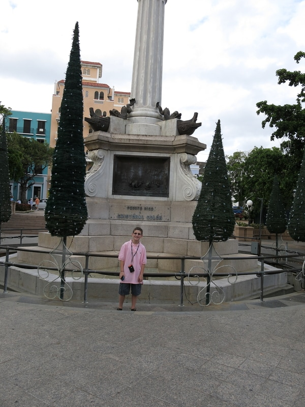 Historic Statues in Puerto Rico