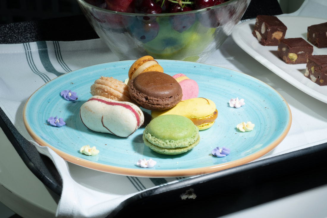 Macarons and Fudge at Hyatt Regency Tysons Corner Center