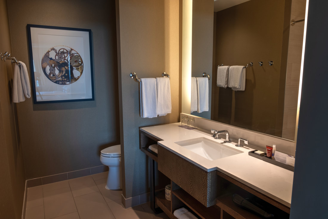 Bathroom in Guestroom at at Hyatt Regency Tysons Corner Center