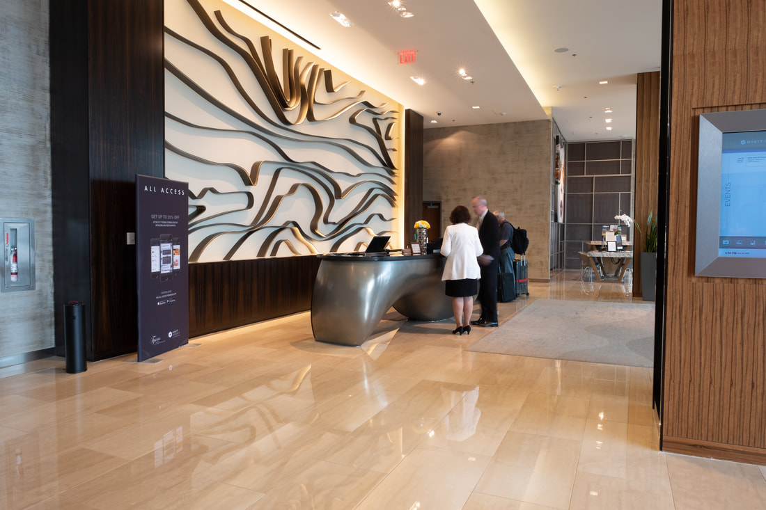 Check in at Hyatt Regency Tysons Corner Center