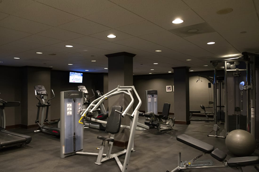 Fitness Center at Lord Baltimore Hotel