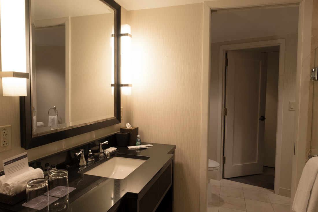 Bathroom in Capitol Suite at Hyatt Regency Washington on Capitol Hill