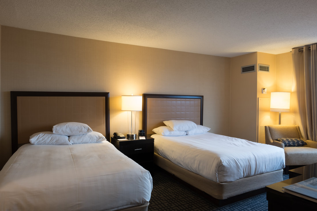 Double bed room at Hyatt Regency Washington on Capitol Hill
