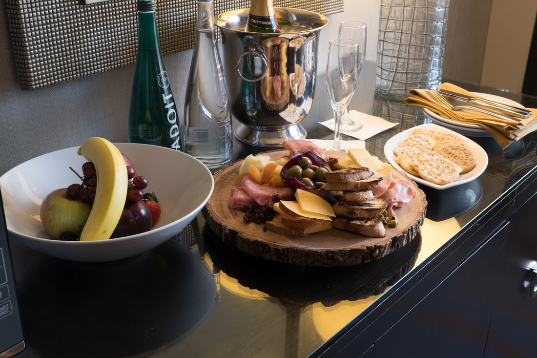Delicious in-room dining at Hyatt Regency Washington on Capitol Hill