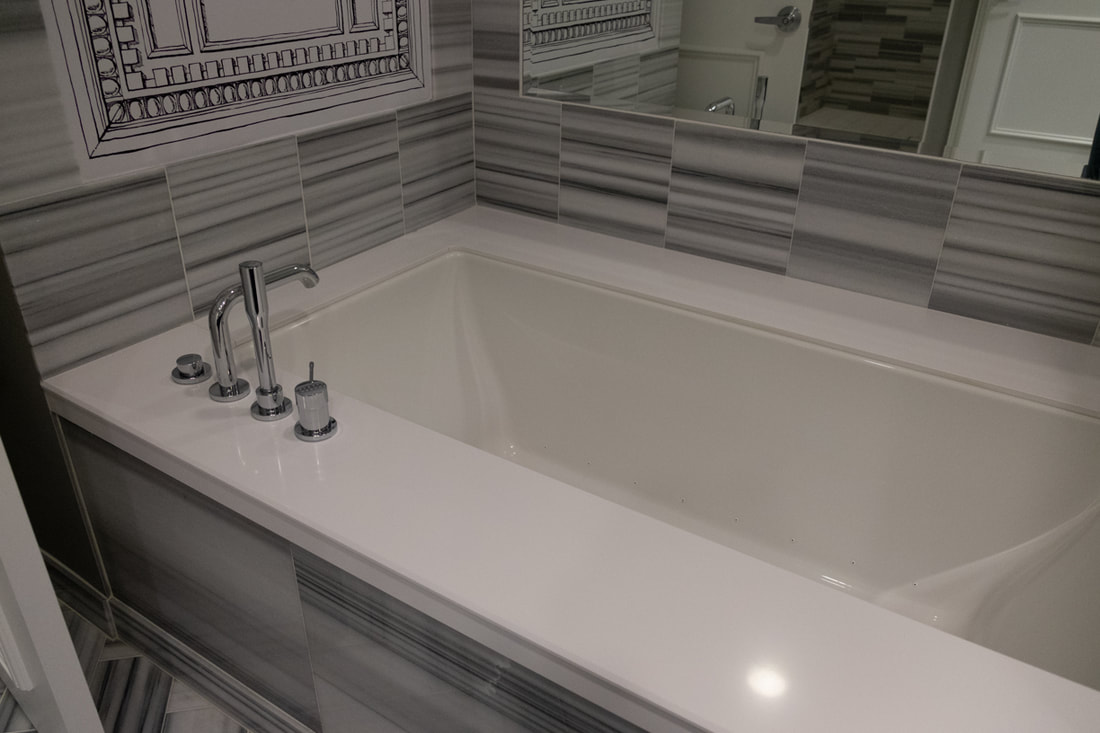 Caesars Palace Premium Room Bathtub