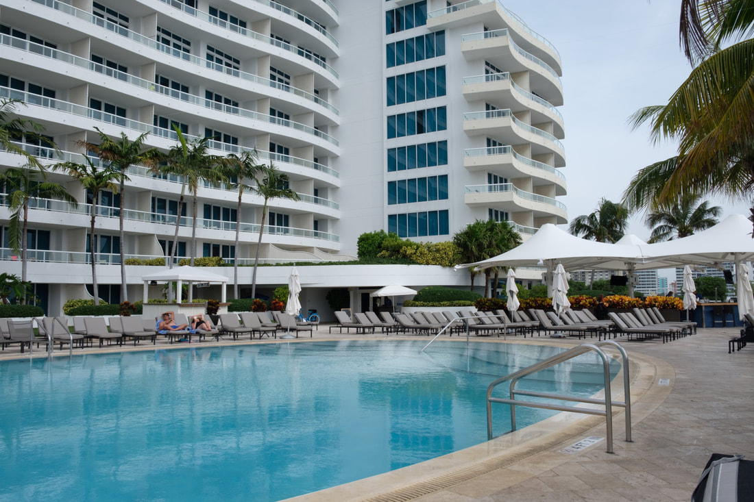 Poolside at Ritz-Carlton Fort Lauderdale