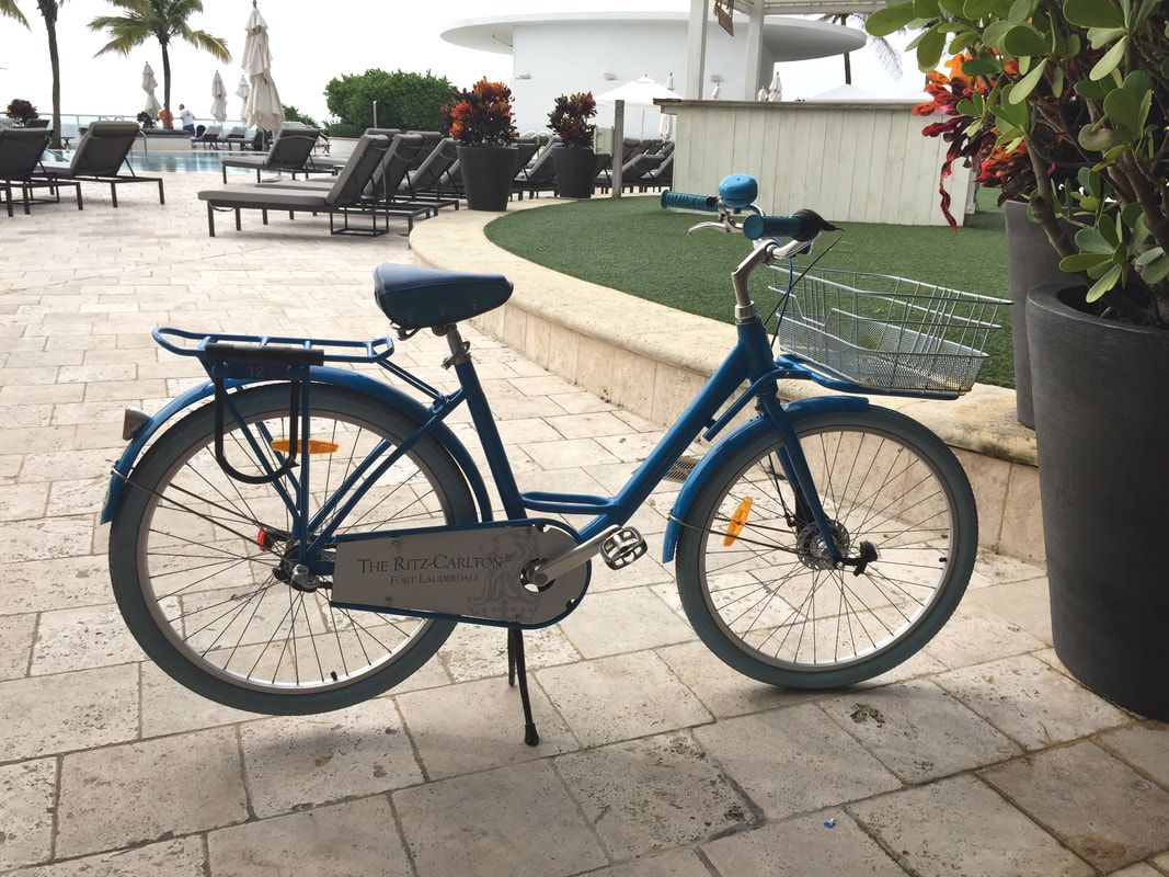 Biking at Ritz-Carlton Fort Lauderdale