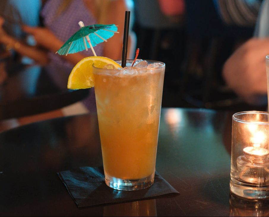 Delicious Mai Tai at Wreck Bar