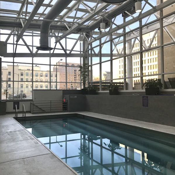 Pool at Hyatt Regency Washington on Capitol Hill