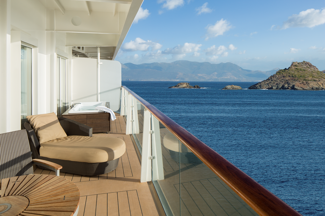 Veranda on Royal Suite on Celebrity Cruises