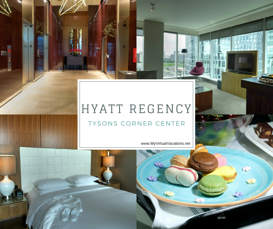 All the favorites are at Hyatt Regency Tysons Corner Center! Fantastic luxury suites, amazing food, and SO much to do.