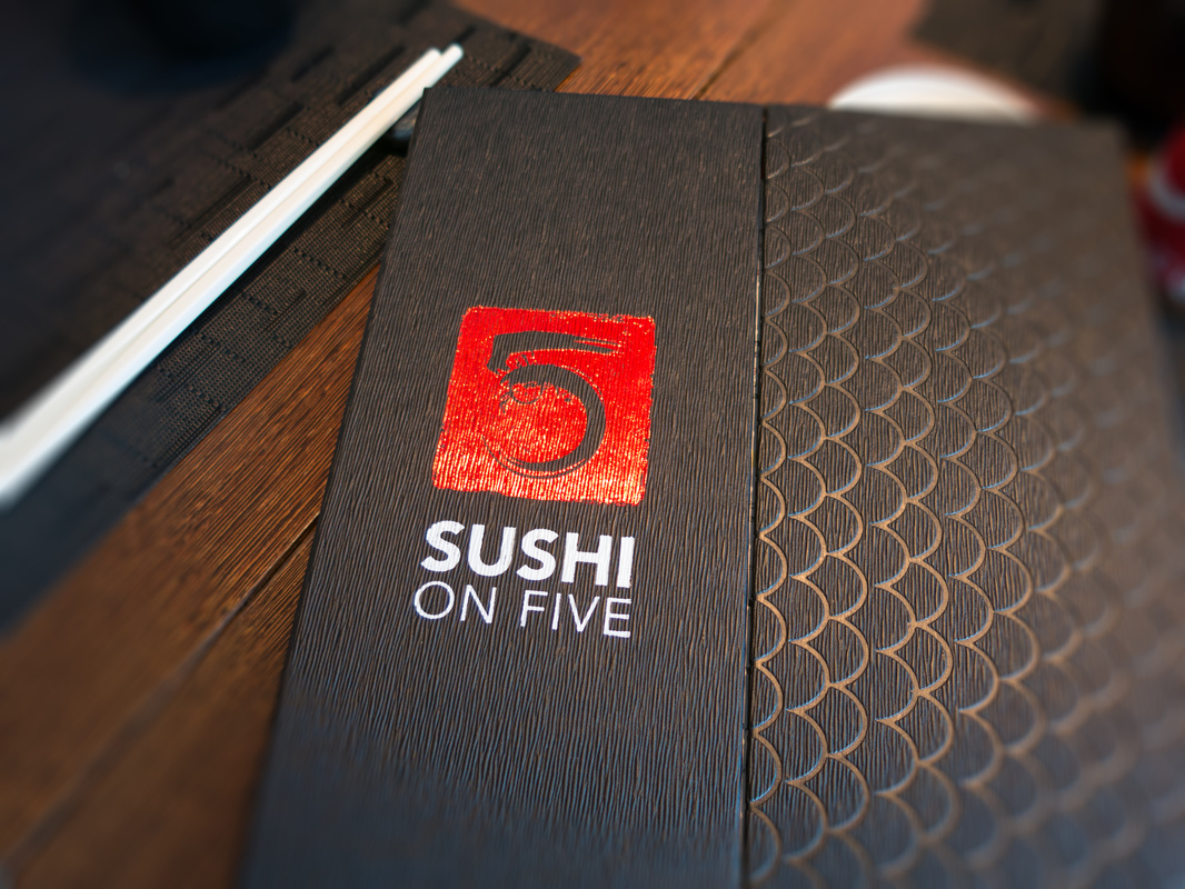 Sushi on Five Menu