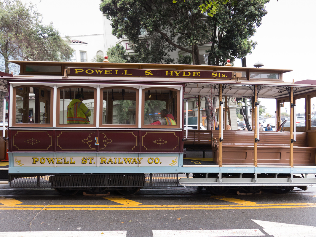 Love the San Francisco Cable Cars!