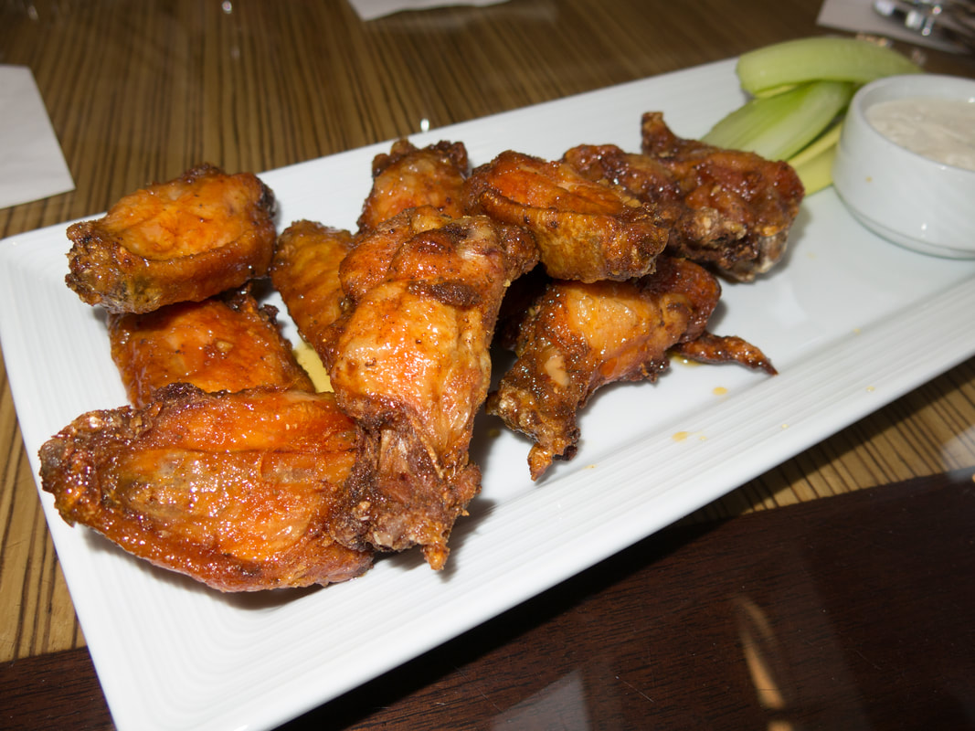 Chicken wings at Article One at  Hyatt Regency Washington on Capitol Hill