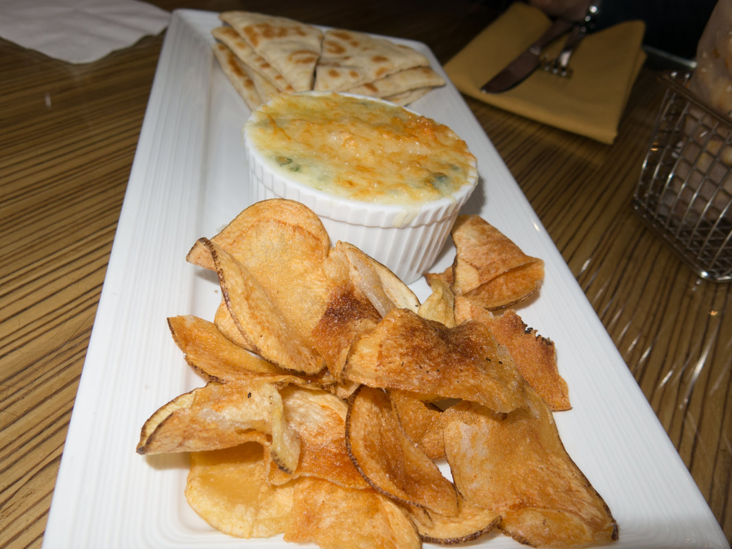 Spinach and Brie Dip at Hyatt Regency Washington DC