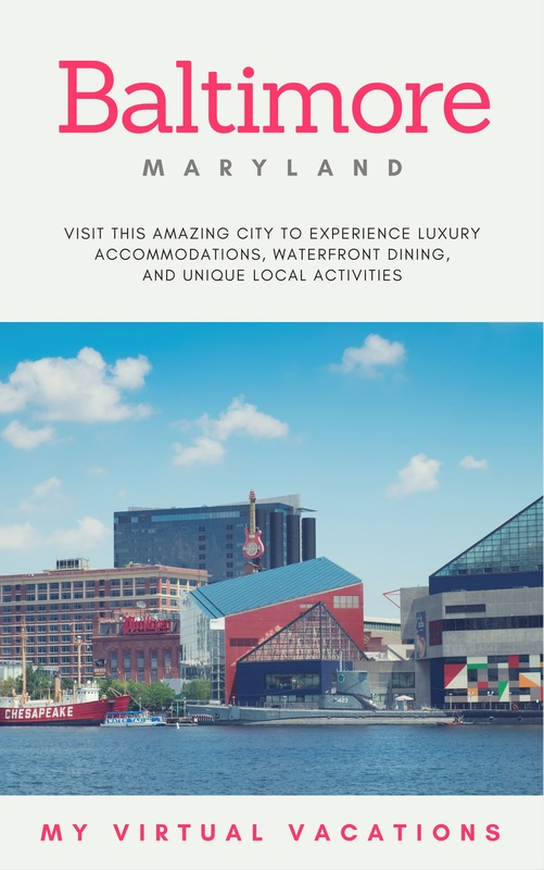My Virtual Vacations Staycation in Baltimore, Maryland