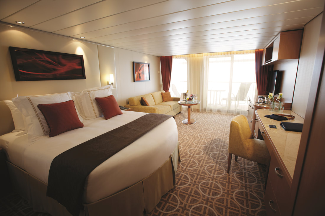 Celebrity Summit cabins and suites | CruiseMapper