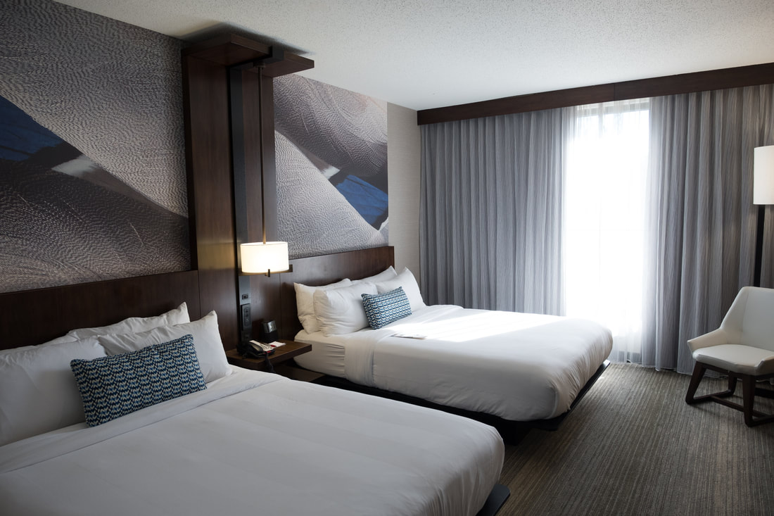 Guest Rooms at Richmond Marriott