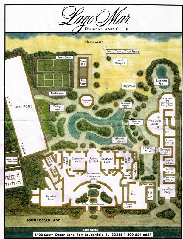 Map of Lago Mar Resort