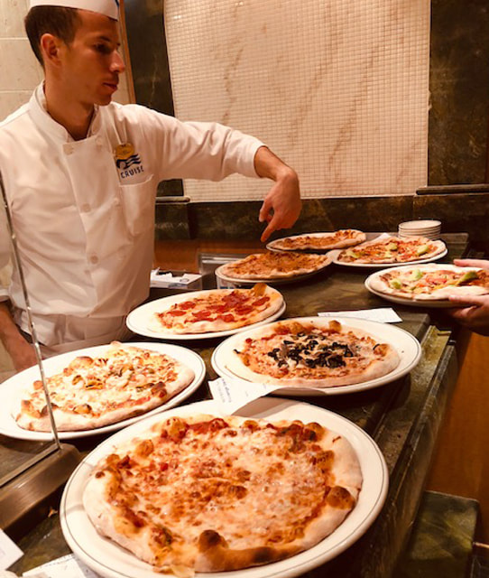 Best pizza at sea on Princess Cruises