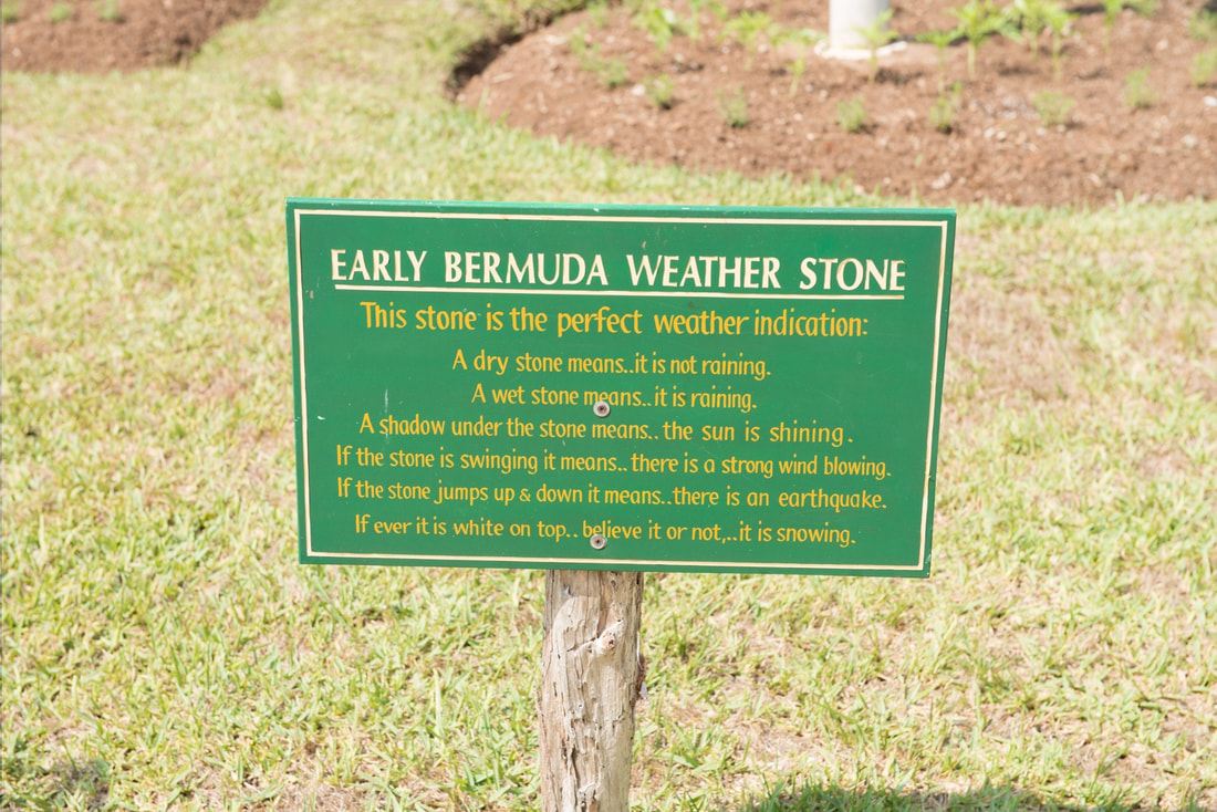 Bermuda Weather Stone