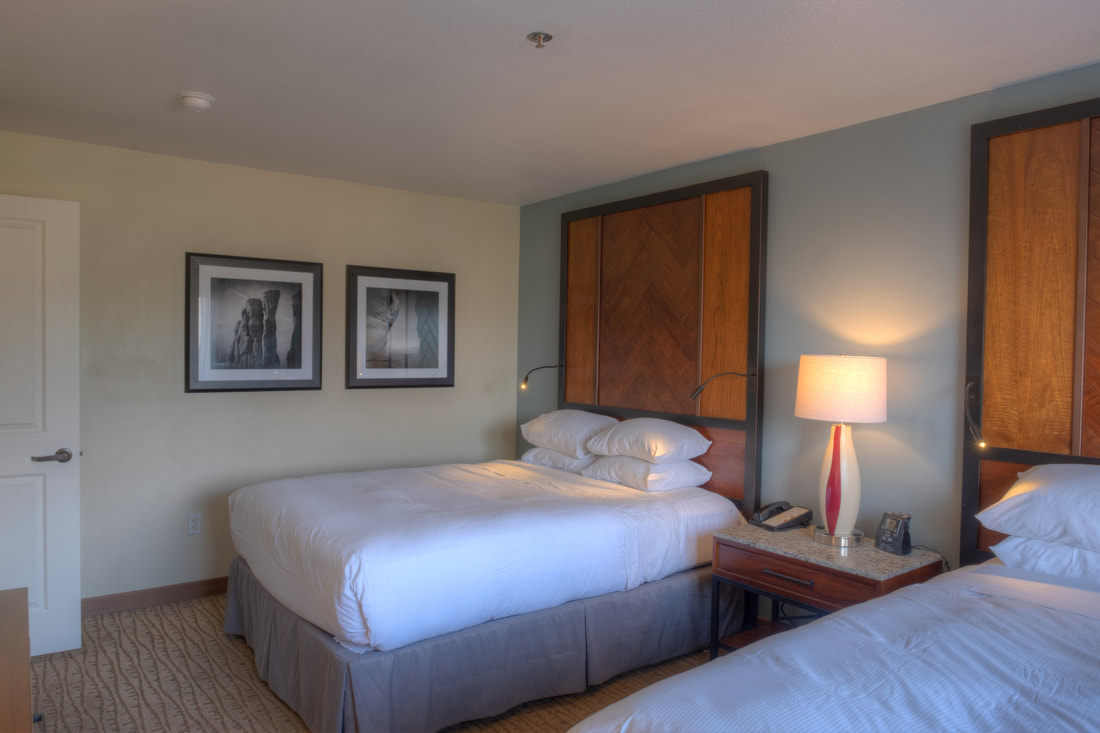 Two queen bedroom suite at Hilton Sedona