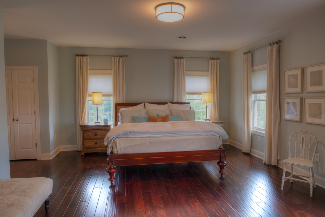 Master bedroom in Big House at Big Cork