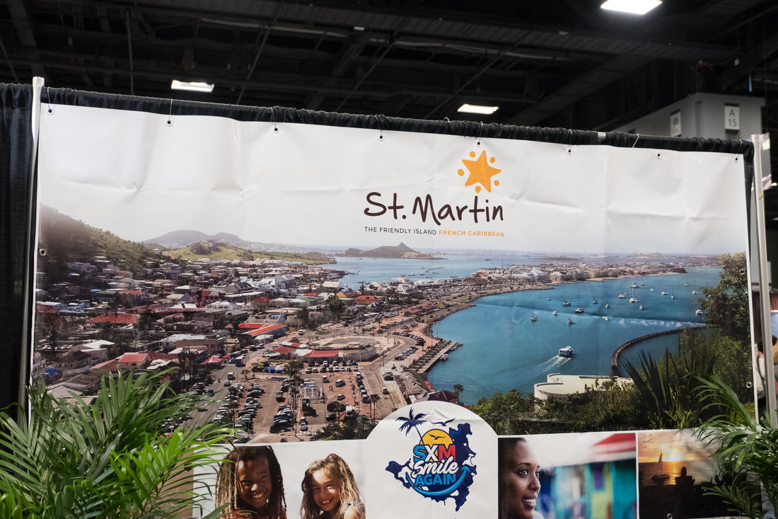 St. Martin at the Travel and Adventure Show in Washington, D.C.