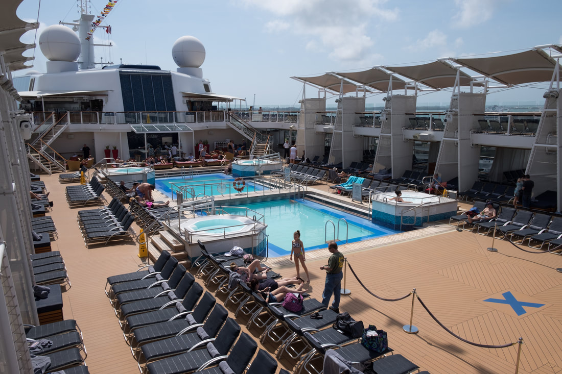 Pool on Celebrity Reflection
