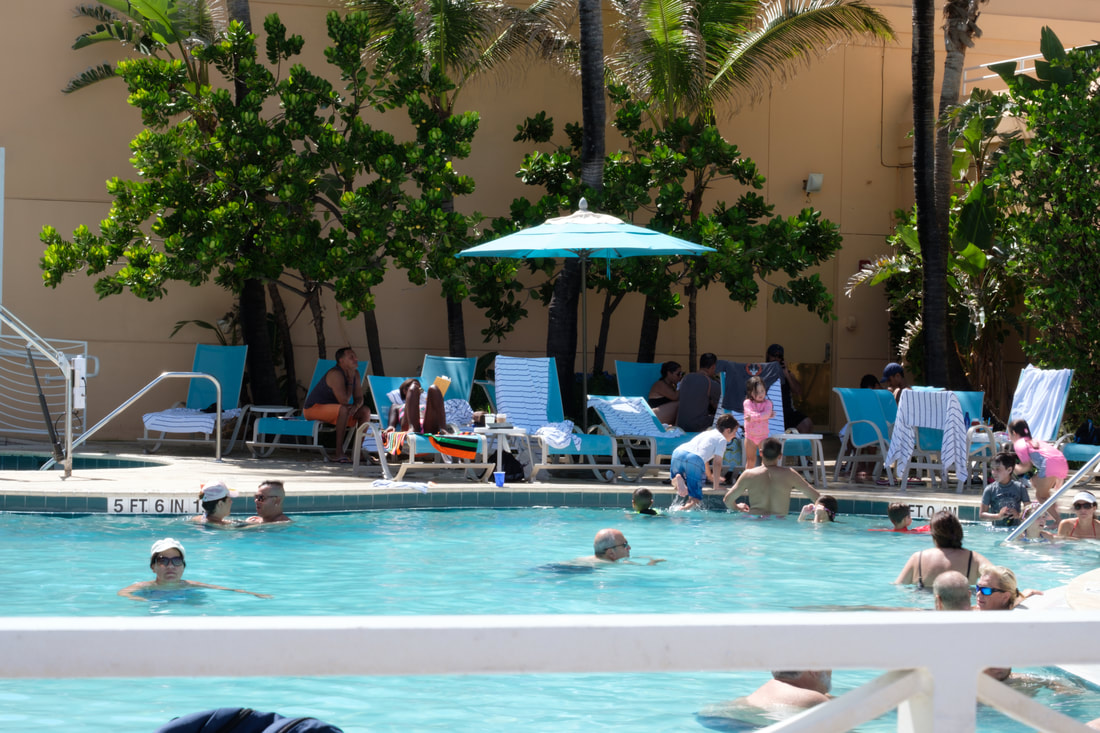 Swimming Pool at Hollywood Beach Marriott