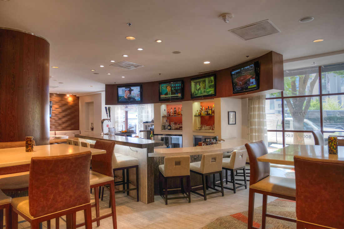 Savor Lounge at DoubleTree by Hilton in Silver Spring Maryland