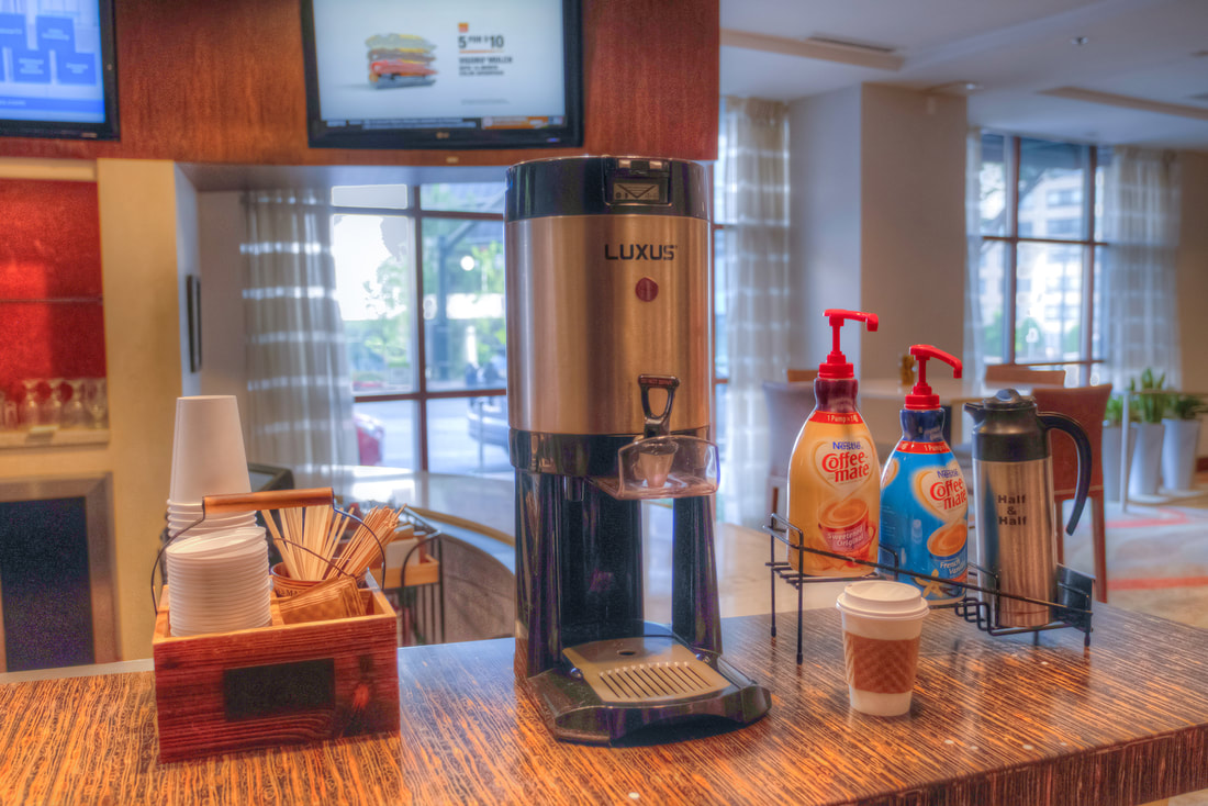 Free coffee at DoubleTree by Hilton in Silver Spring