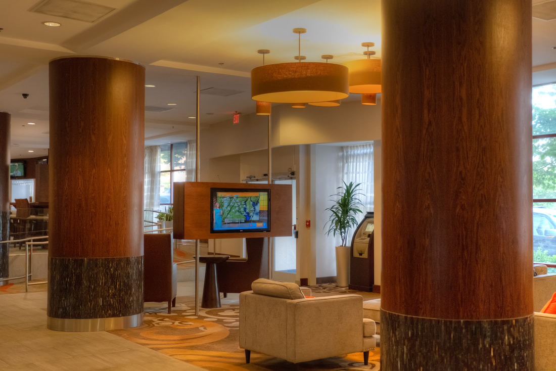 DoubleTree by Hilton in Silver Spring Maryland Lobby