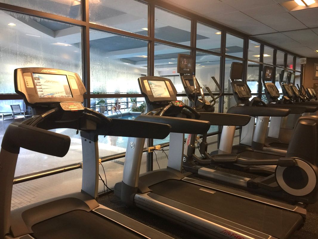 Fitness Center at Richmond Marriott