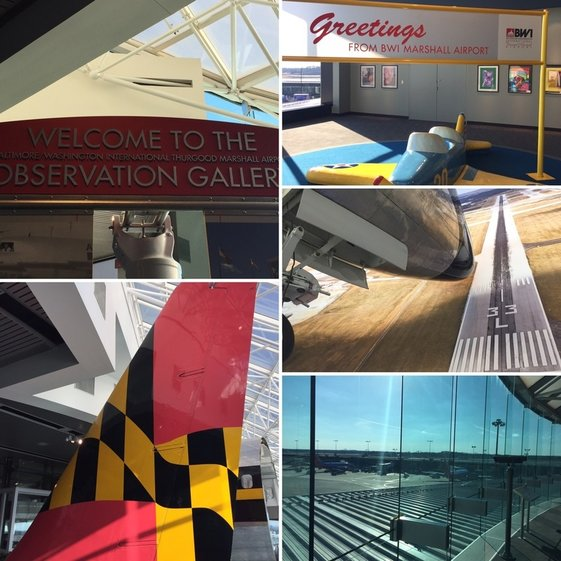 BWI Airport Observation Area
