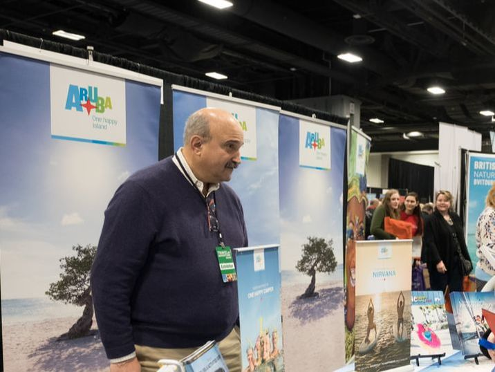 Aruba at the Travel and Adventure Show in Washington, D.C.
