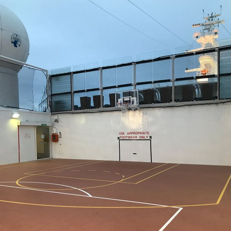 Basketball Court on Celebrity Solstice