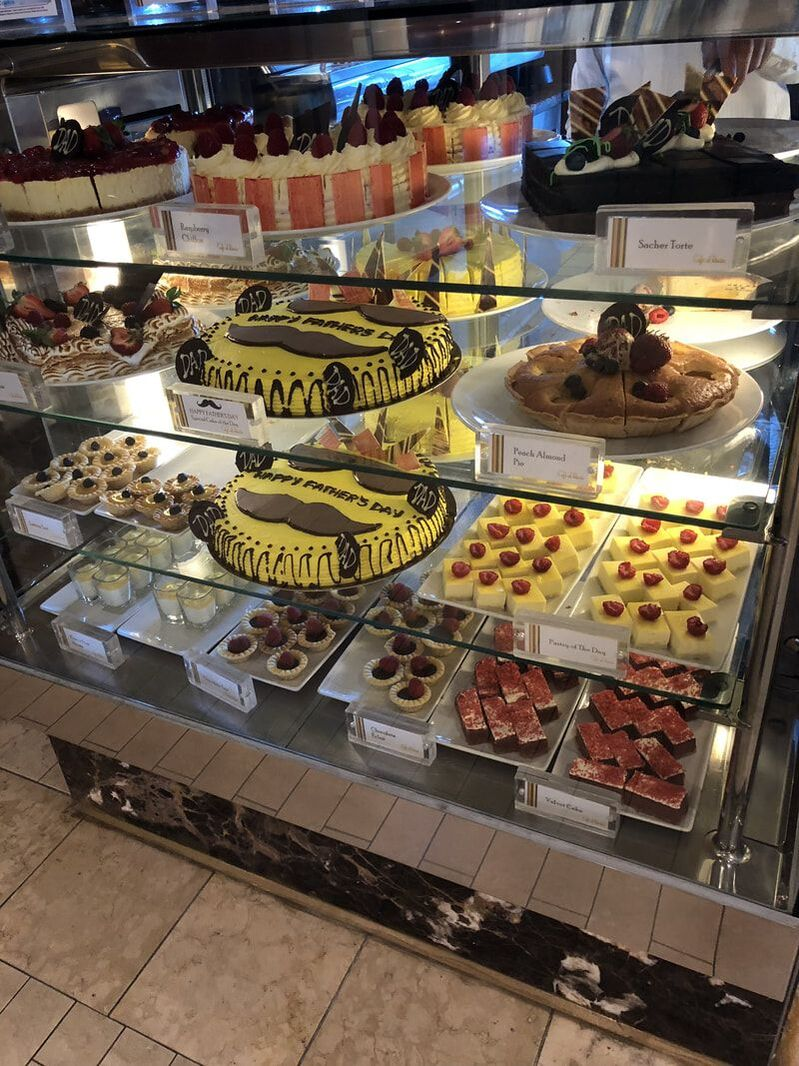 Free Cafe al Bacio Desserts on Celebrity Solstice