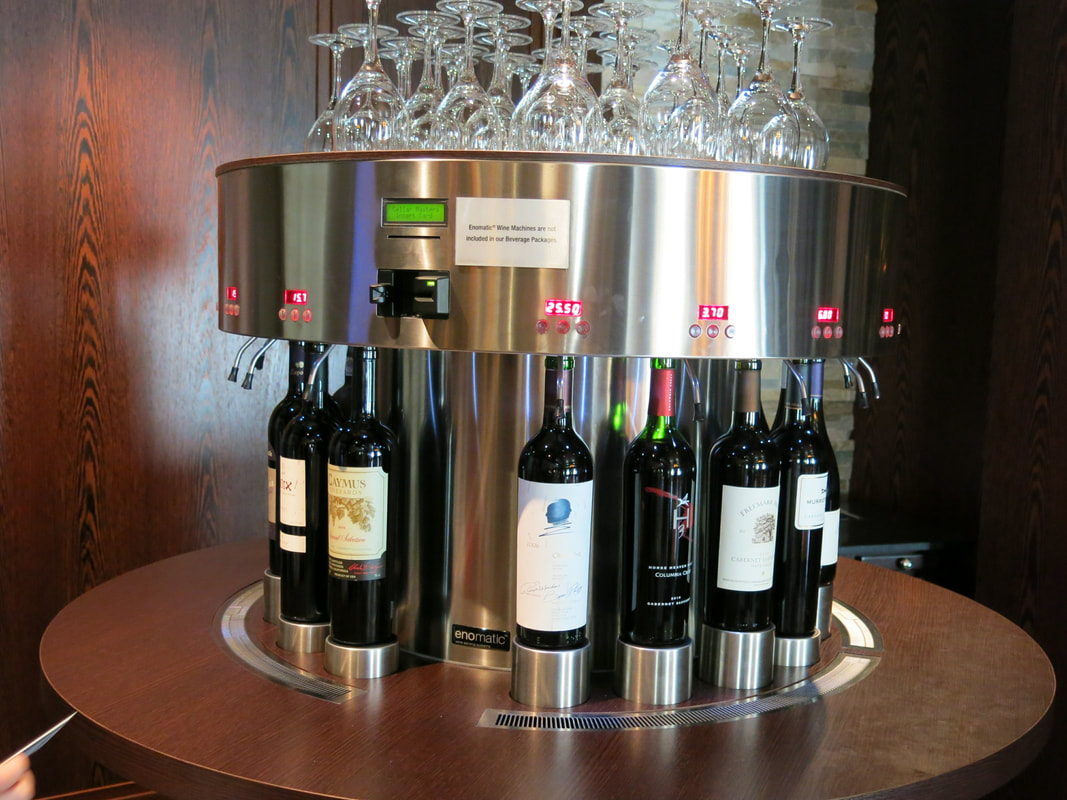 Wine Selection on Celebrity Cruises