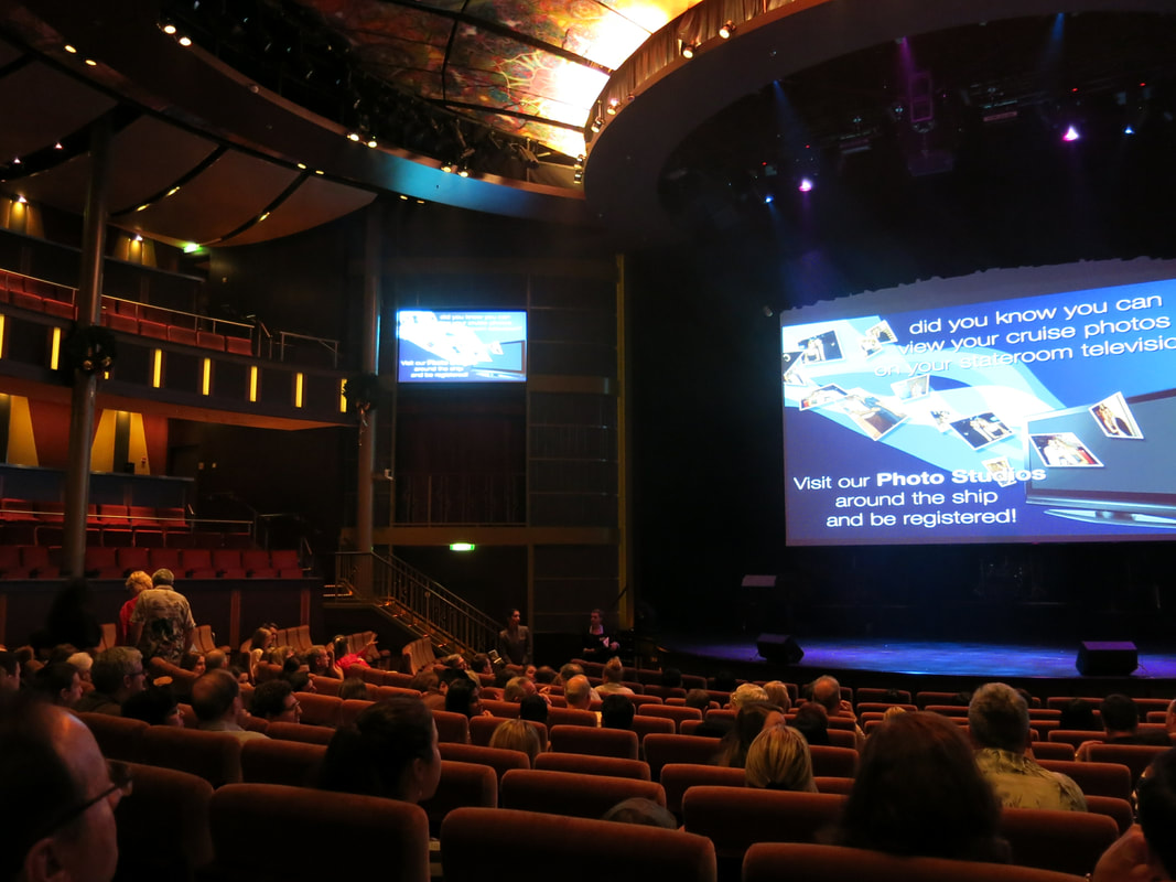 Theater on Celebrity Cruises