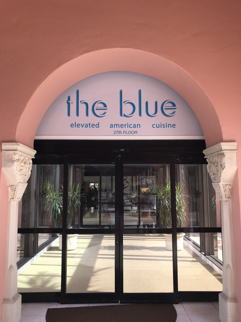 the blue in the Tower at Boca Raton Resort