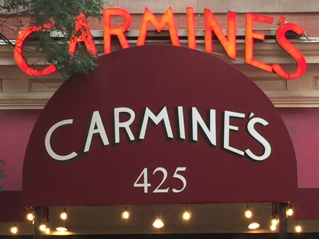 Carmine's Italian Restaurant in Washington DC