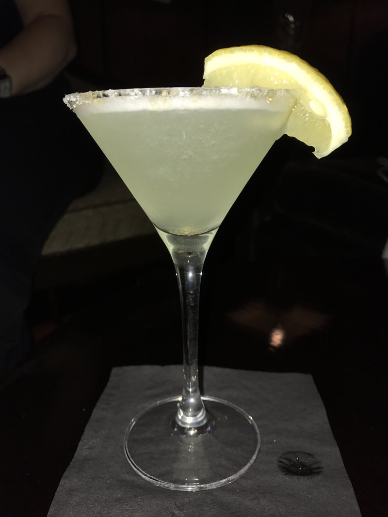 Lemondrop Martini on Celebrity Cruises