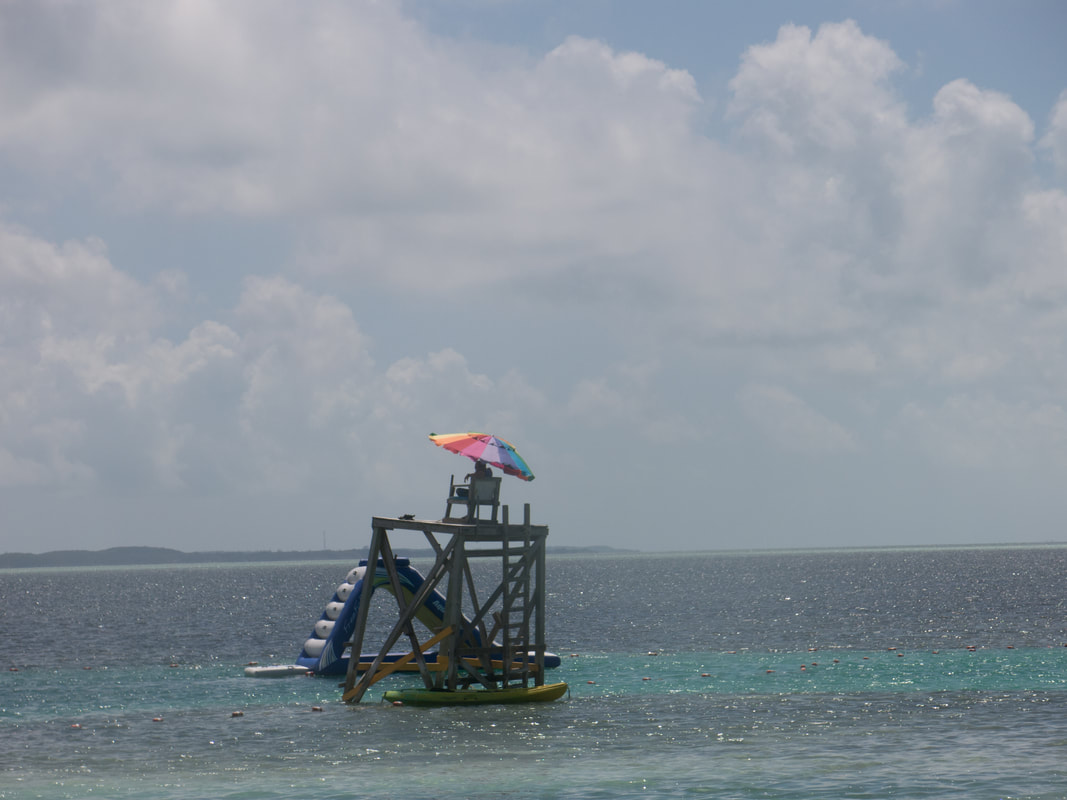 Lifeguards at Cococay