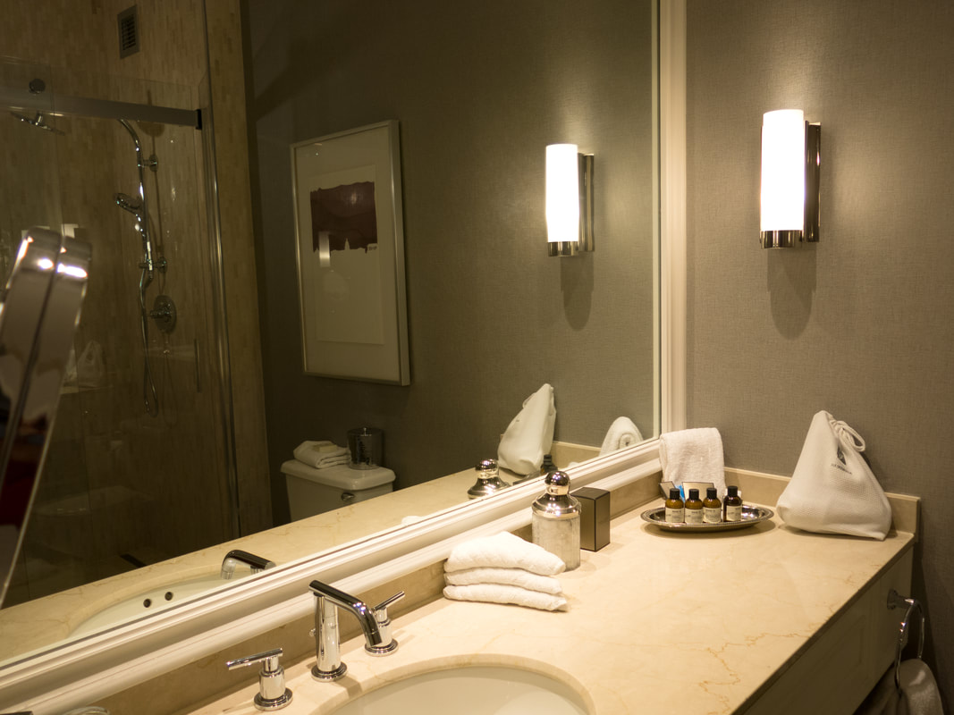 Bathroom in Fairmont Hotel Washington DC