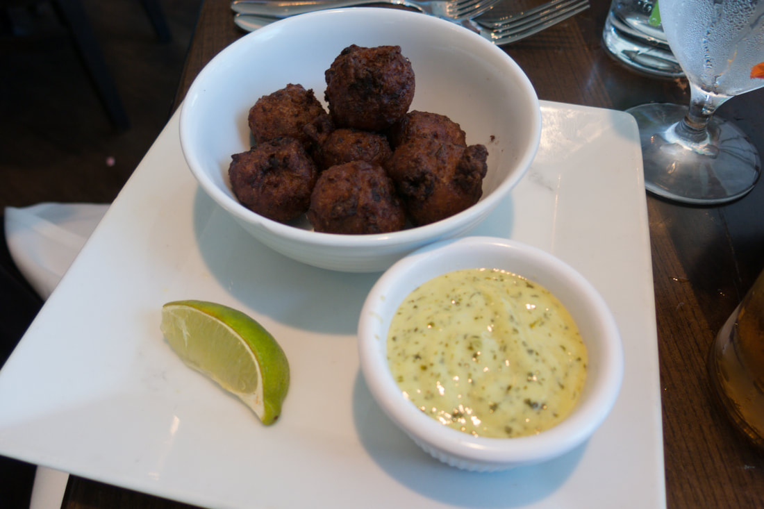 Conch Fritters from Latitudes at Hollywood Beach Marriott