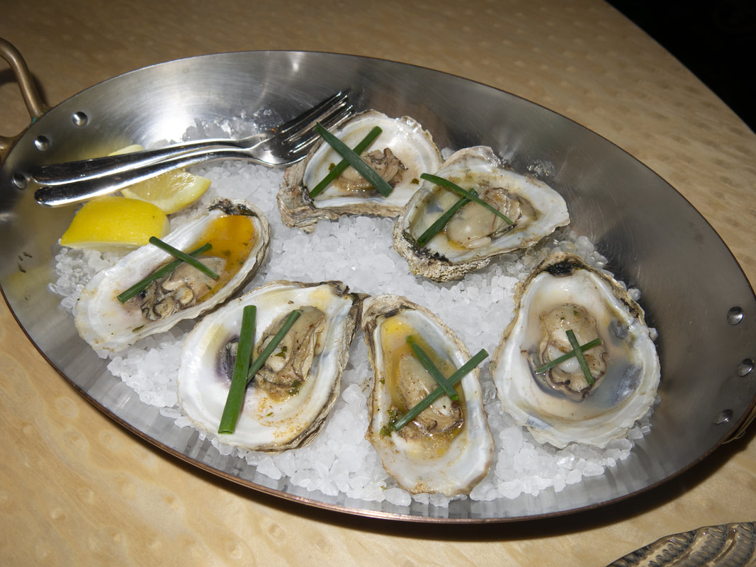 Oysters at the blue at Boca Raton Resort