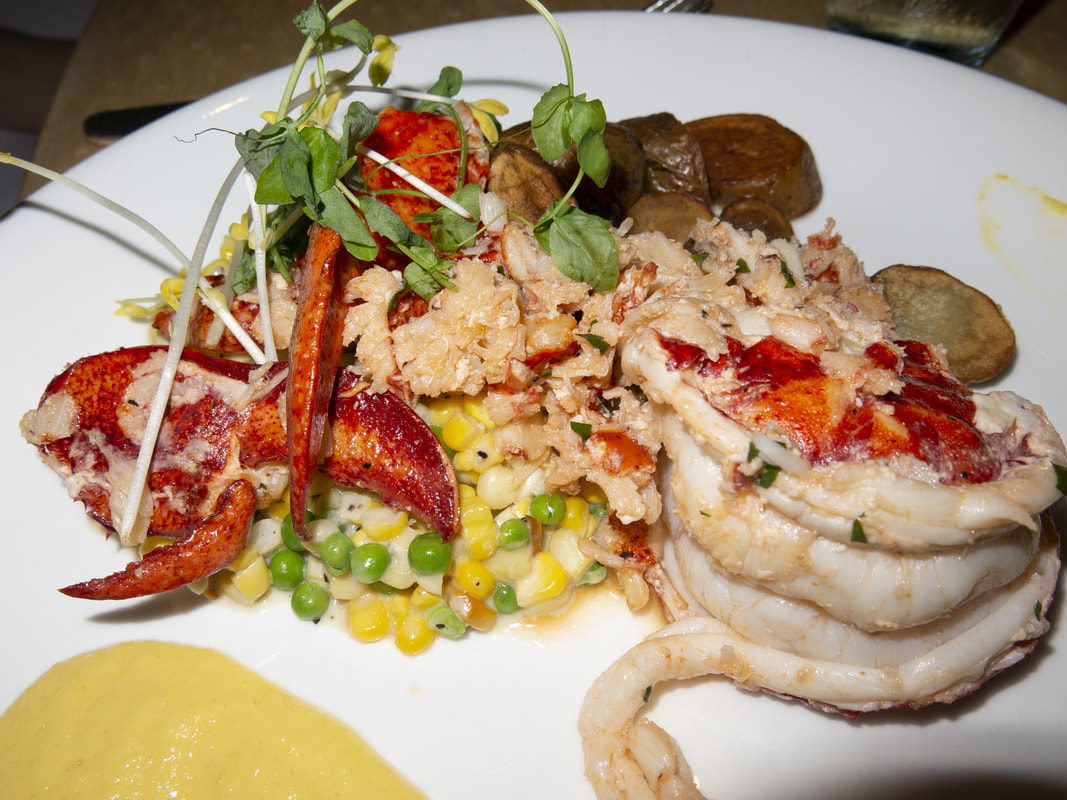 Lobster at the blue at Boca Raton Resort