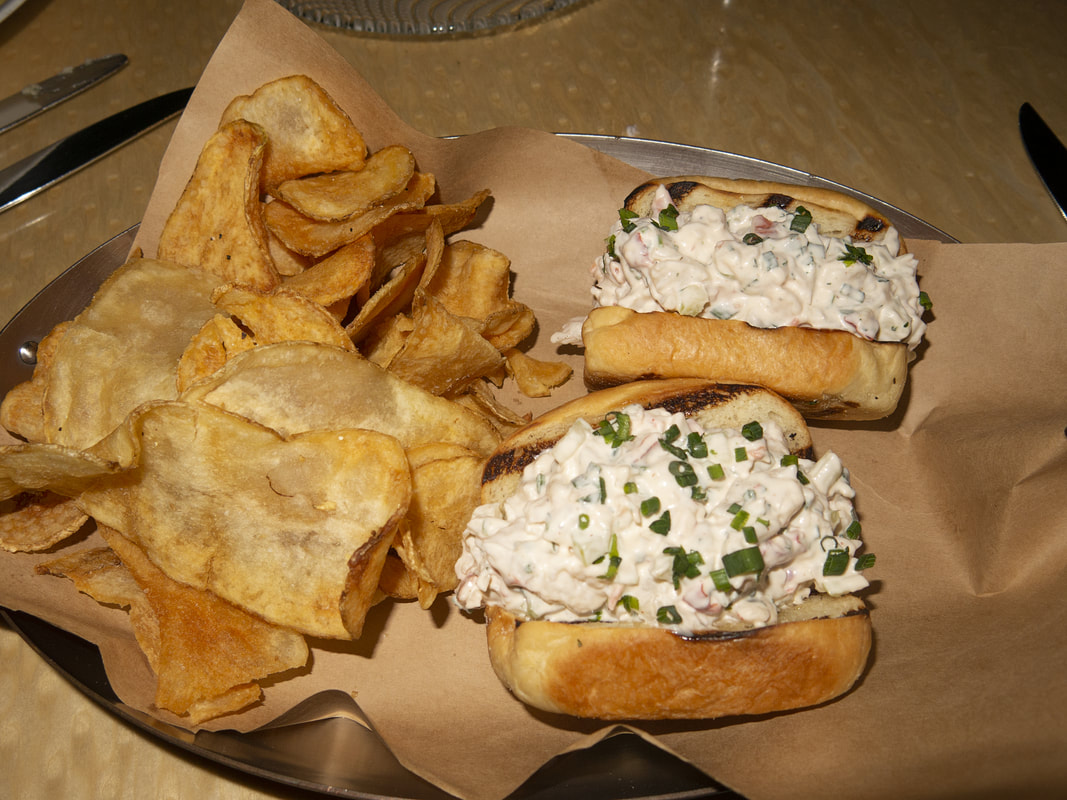 Lobster rolls at the blue at Boca Raton Resort